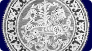 Oroszlános címer, terv: Pongrácz Margit, 1935